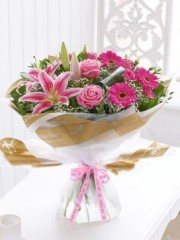 Thank You Pink Radiance Hand-Tied