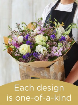 Hand-tied Bouquet £50